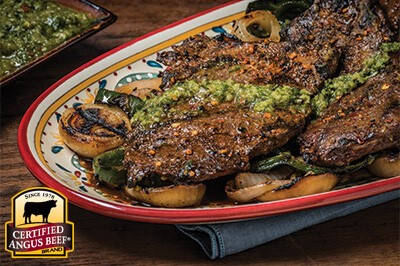 Grilled Rump Picanha with Chimichurri Sauce
