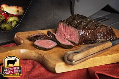 Grilled Sirloin Steaks with Three-Pepper Marinade